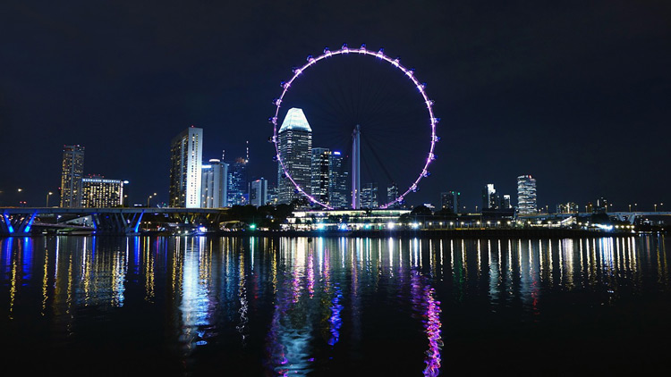Ferris Wheel in Singapore symbolizing the ongoing process of PPC