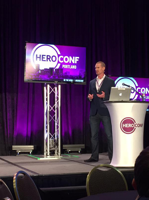 Bryan Sise, Twitter Man, at HeroConf 2015