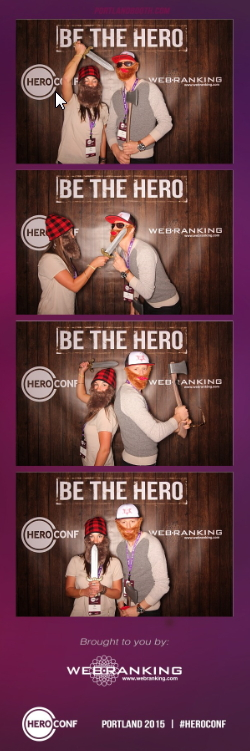 Photobooth at HeroConf 2015