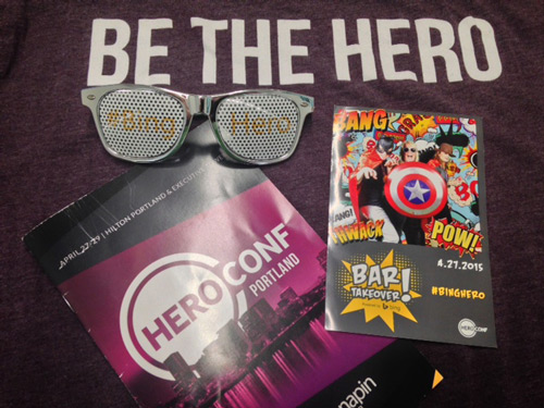 Swag from HeroConf 2015