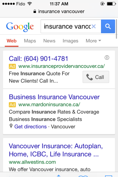 mobile PPC advertising