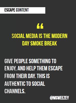 smoke break CTA Conference 2016