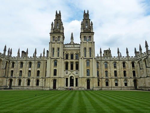 Oxford University representing the education of CPA and LTV